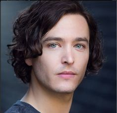 Alex Vlahos head shot May 2015. Those long & lucious chestnut locks... Who can resist!
