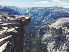 Half Dome, Yosemite!!! So hard but so worth it. Must do this one day