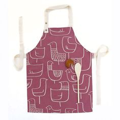 kids apron Real Cooking, Cooking Tools, How To Make Cupcakes, Sewing Aprons, Kids Apron, Kitchen Linens, Cute Toys, Playroom, Sewing Projects