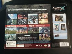 Xenoblade Chronicles X Special Edition back art