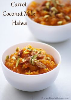 Carrot Halwa is a very famous and traditional Indian dessert. There are many variations of making carrot halwa like carrot halwa with khoya and condensed milk carrot halwa. This is another variation with coconut milk. I made this halwa few months back and we loved it a lot. Adding the coconut milk to the classic...