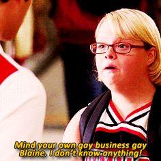#Glee - Becky Jackson