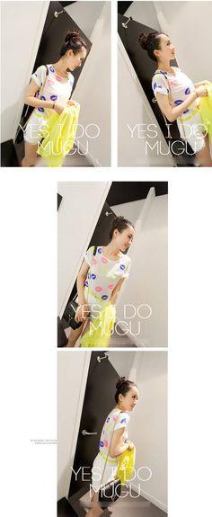 Sateen blouse   USD $6.90