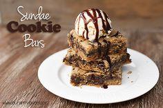 Sundae Cookie Bars