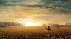 Sunset+of+the+Prairies+-+Albert+Bierstadt