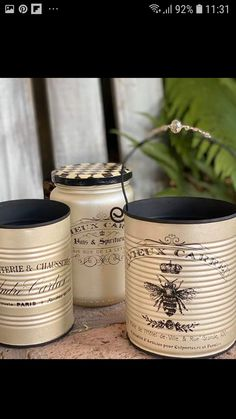 Aluminum Can Crafts, Tin Can Crafts, Metal Crafts, Crafts To Make, Home Crafts, Mason Jar Crafts, Bottle Crafts, Recycle Cans, Diy Cans