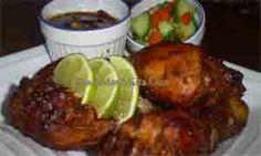 Resep Ayam Panggang Bumbu Sate