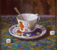 Randall Lake Art - Italian Teacup