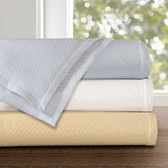 Concierge Collection Liquid Egyptian Cotton Blanket at HSN.com