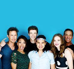 The Flash EW Comic Con Portrait 2015