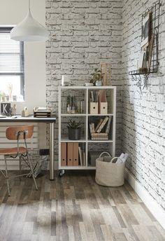 Lame PVC à clipser multilames long. 122 x larg. 15 cm x ép. Plank, Ladder Decor, Foyer, Decoration, Shelves, Room, Wedding Cake, Home Decor, Brunch