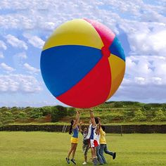 93.06$  Watch here - http://alie7z.worldwells.pw/go.php?t=32751263104 - 1.0m PVC Inflatable beach ball Water Play ball Outdoor games balls 93.06$