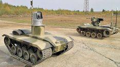 Russian army shows the future of robotic warefare