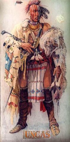 Native American. Mohegan/Pequot. This is my great grandfather Uncas from many generations back. (not my painting)