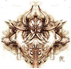 Images Odins tatouage yeux