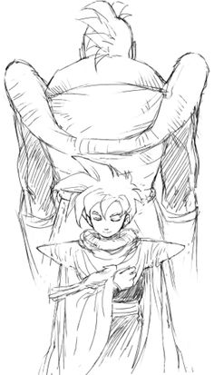 Son Gohan and Android 16 by pinki100 on @DeviantArt