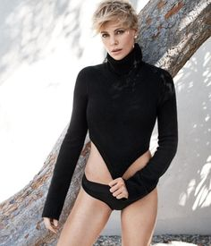 Beauty Mags: Charlize Theron | WSJ. US April 2016