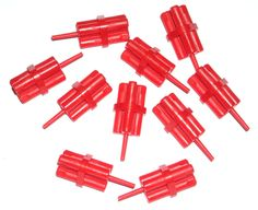 LEGO 10 Red Minifig Dynamite Sticks Bundle 79109 #LEGO