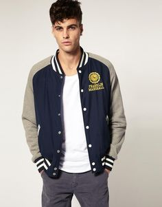 Franklin & Marshall Reversable College Jacket by Franklin & Marshall