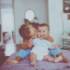 Brothers love...