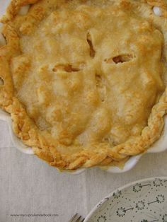 Pear and Gruyère Pie (for Pushing Daisies fans) — MY CUPCAKE NOTEBOOK