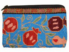 and present, east and west meet in the handmade stitches of Iroki, an ancient style of Uzbek embroidery. Iroki purses provide a beautiful and. Pomegranate, Women Empowerment, Clutches, Coin Purse, Embroidery, Stitch, Purses, Creative, Handmade