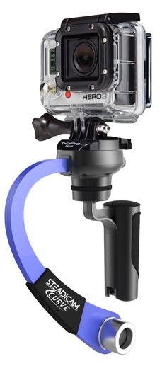 The Tiffen Company's New Steadicam® CURVE™ For GoPro® Jumps Into Action At CE Week 2013