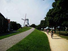 Damme: ruta de los molinos en Brujas