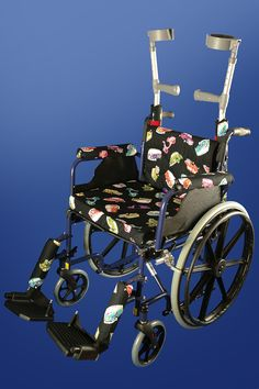 Full Retro Vehicles Wheelchair set. Fun and cool wheelchair accessories for children and adults by PAD-ALL Industries.