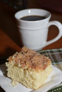 This Morning Cake is a great way to start the day! Not too sweet and pairs perfectly with a cup of coffee, who says you can't enjoy cake for breakfast? Breakfast Cake, Breakfast For Dinner, Breakfast Dishes, Breakfast Recipes, Dessert Recipes, Breakfast Ideas, Breakfast Pastries, Cake Recipes, Breakfast Muffins