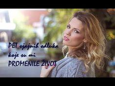 PET sjajnih odluka koje su mi promenile život- Divna Milovanović