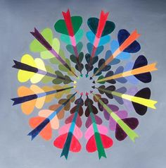 good website for elements of art lessons: monochromatic perspective drawings, color wheel exercises, value paintings. Elements And Principles, Elements Of Art, Color Wheel Art, 6th Grade Art, Kids Art Class, Middle School Art, High School, School Art Projects, Art Lesson Plans