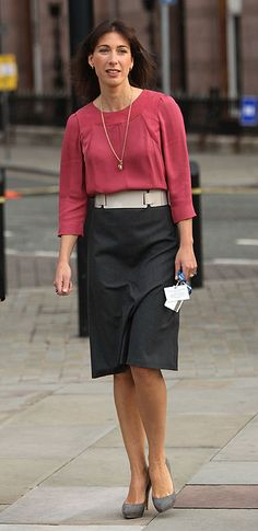 Fashion's first lady: Samantha Cameron leads Britain in the style stakes - Photo 5