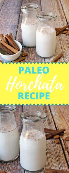 Paleo Horchata recipe - Delicious and refreshing drink!