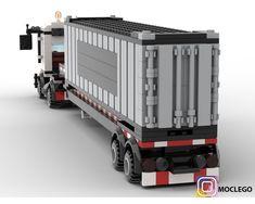 Lego Kits, Lego Truck, Lego Trains, Lego Design, Lego Group, Group Of Companies, Lego Models, Custom Lego, Lego Moc
