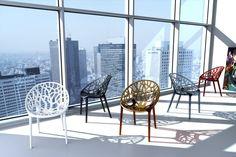 Designgartenmöbel Stuhl Crystal Ein Designgartenmöbel wie es schöner nicht sein könnte - dass ist der Stuhl Crystal. Komplett von der Natur abgeschaut