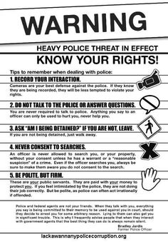 Your rights!