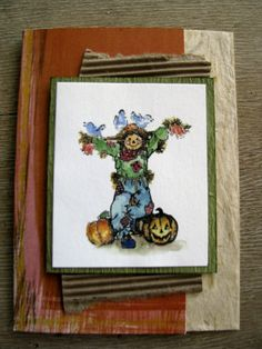 Fall card by Becky Joyce Hand Stamped Cards, Thanksgiving Cards, Fall Cards, Watercolor Cards, Homemade Cards, Card Making, Scrapbooking, Tags, How To Make