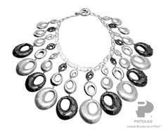 """Oscar Figueroa """"Identidad"""" Necklace Mexican Jewelry, American Artists, Washer Necklace, Artisan, Collar, Designers, Make Envelopes, Identity, Trends"""