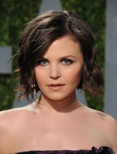 Bob Inspiration - Ginnifer Goodwin Style | Girly Inspiration @Lauren Sutherland I still think this is what your hair should look like