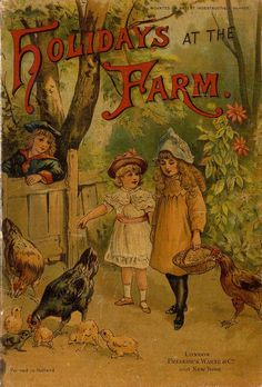 Holidays at the farm children's book