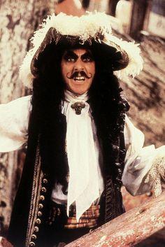Dustin Hoffman in Hook (1991). #Movember