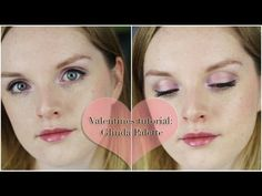 Valentines Tutorial: Urban Decay Glinda Palette || Lilac Ghosts
