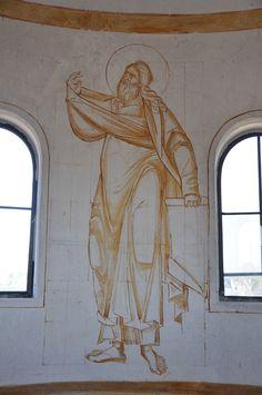 All sizes | 20 2013-07-08 16-35-00 | Flickr - Photo Sharing! Byzantine Icons, Byzantine Art, Painting Process, Painting Lessons, Mural Painting, Mural Art, Greek Icons, Art Icon, Orthodox Icons