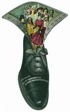 Kulture Shoes - Antique Trade Card