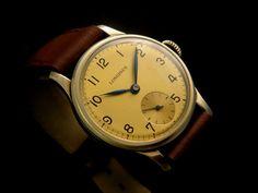 Original Vintage LONGINES Mechanical Swiss 14k Gold Watch 30's Men's   eBay