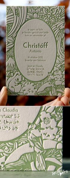 To show you how we can print in a dark color and use the paper-white/negative space to create the image. This is pretty heavily embossed so we'd need to splurge for thicker paper. Letterpress Business Cards, Letterpress Printing, Web Design, Book Design, Unique Business Cards, Business Card Design, Bussiness Card, Marca Personal, Name Cards