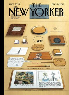 Bado, le blog: Saul Steinberg, The New Yorker, 10 décembre 2012