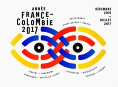 "Podívejte se na tento projekt @Behance: ""Institut français - Année France Colombie"" https://www.behance.net/gallery/57178241/Institut-francais-Anne-France-Colombie"