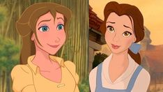 Tarzan's Jane is descended from Beauty and the Beast's Belle - every disney movie is connected!